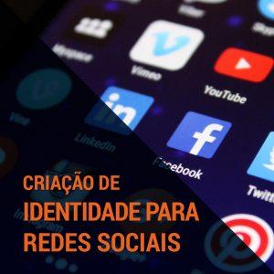 criação identidade para redes sociais